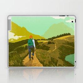 WARM TRAILS Laptop & iPad Skin
