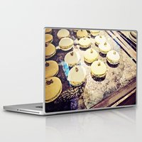 macaron Laptop & iPad Skins featuring macaron by inourgardentoo
