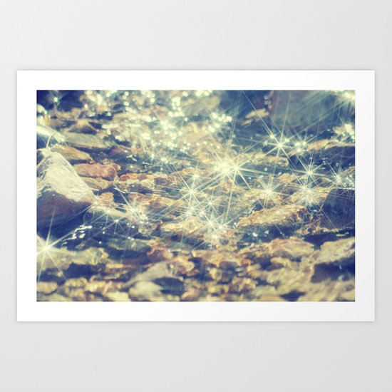 River of Light... Art Print