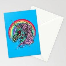 Zombie Unicorn Stationery Cards