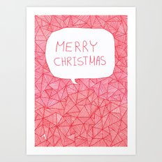Merry Christmas! Art Print