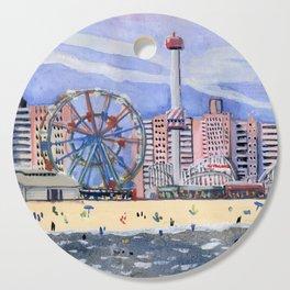 Coney Island Cutting Board