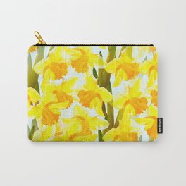 Spring Breeze With Yellow Flowers #decor #society6 #buyart Carry-All Pouch