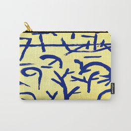Paul Klee Boats in the Flood Carry-All Pouch