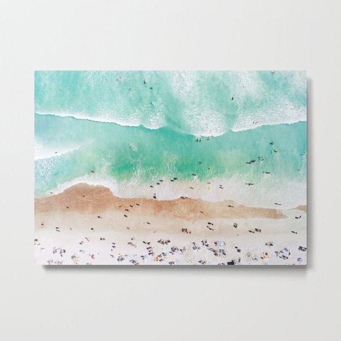 Beach Mood Metal Print