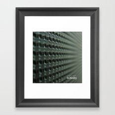 Towards Infinity Framed Art Print