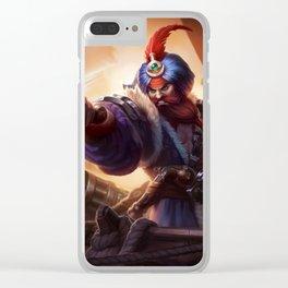Sultan Gangplank League of Legends Clear iPhone Case