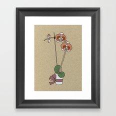 orchid nr1 Framed Art Print