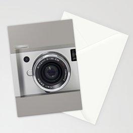 silver camera Stationery Cards