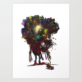 Sick Kid Art Print