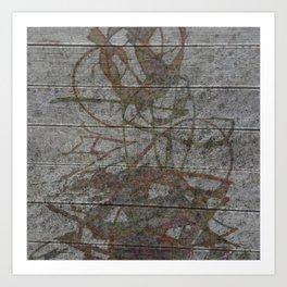 Silja Wood Art Print