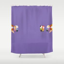 cycle of life and death Shower Curtain