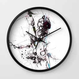 Impromptu 1 Wall Clock