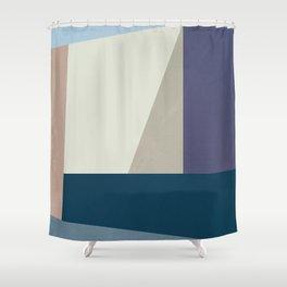 Abstract Shape Geometric Design Shower Curtain