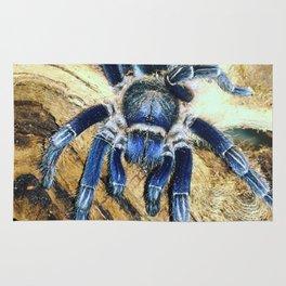 Nugget the Blue Tarantula Rug