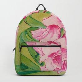Her Mother's Gladiolus Backpack