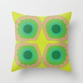 WHAT A FLOWER Throw Pillow