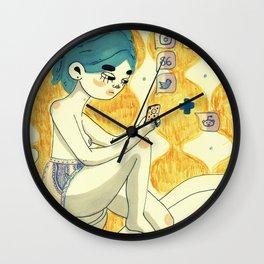 daily updates Wall Clock
