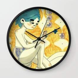 daily updates Wall Clock