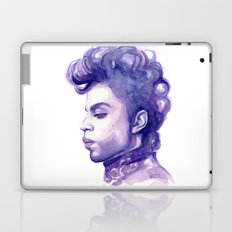 Prince Portrait Purple Watercolor Laptop & iPad Skin
