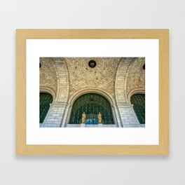 Grand Central Station - Washington DC Framed Art Print