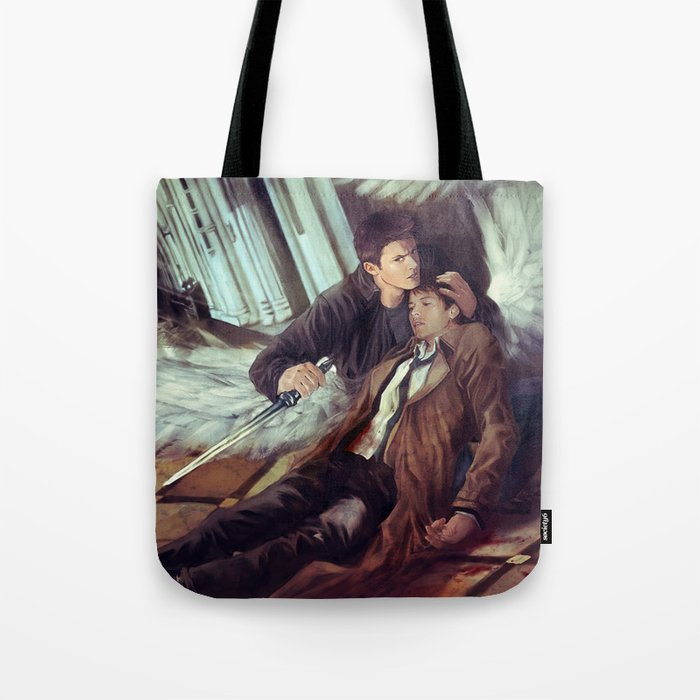 Supernatural Protecting something so Holy Tote Bag