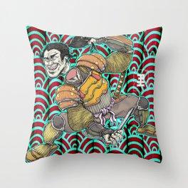 Nitta Yoshisada Throw Pillow