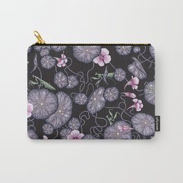 Black Indian cress garden. Carry-All Pouch