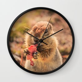 Have a smile for breakfast Wall Clock