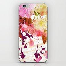 sweet spring floral iPhone Skin