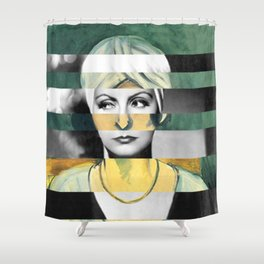 Matisse's Woman with a Turban & Greta Garbo Shower Curtain