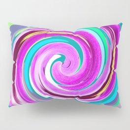 Purple twirl Pillow Sham