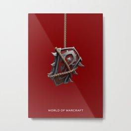 Horde Shield Metal Print