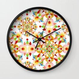 Papel Picado Fiesta Wall Clock