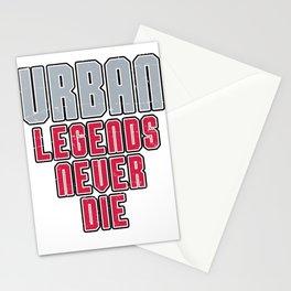 Urban Legends Never Die Football Ohio Pride Vintage Stationery Cards