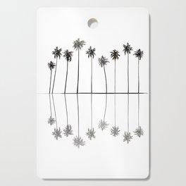 Palm Reflections II Cutting Board