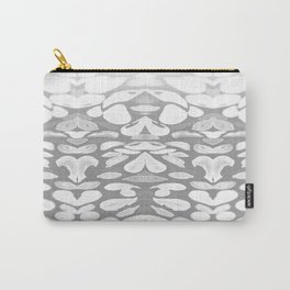Winter has Come, Silver Romantic Nights Carry-All Pouch