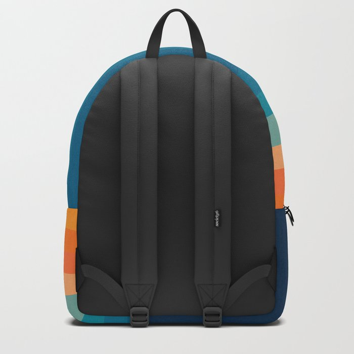 Retro 70s Color Lines Backpack