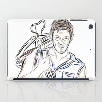 daryl dixon iPad Cases featuring Daryl Dixon by Salina Ayala
