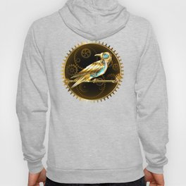 Mechanical Bird ( Steampunk ) Hoody