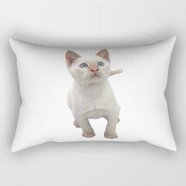 Flame Point Siamese Kitten Rectangular Pillow