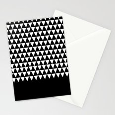 geometric patterns triangles Stationery Cards