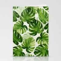tropical Stationery Cards featuring TROPICAL by judith van den hoek