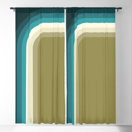 Graphic 956 // Cool & Drab Bend Blackout Curtain