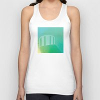 bed Tank Tops featuring bed by XiXi