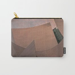 Architectural abstract of the home of the LA Philharmonic. Architect: Frank Gehry Carry-All Pouch