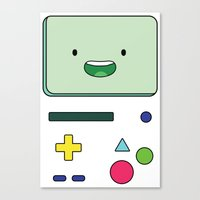 beemo Canvas Prints featuring beemo adventure by Komrod