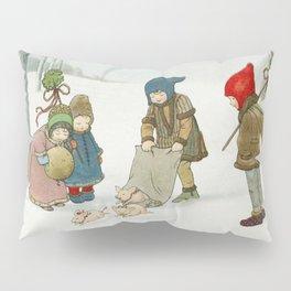 Joyeux Nol by Pauli Ebner (1873-1949) Pillow Sham