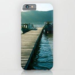 Lake scene iPhone Case