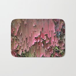 Flawed Flowers Bath Mat